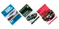 Ksi��ki o samochodach marki Toyota